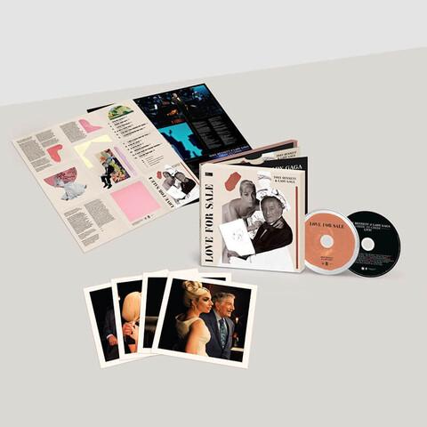 Love For Sale (International Deluxe 2CD) von Tony Bennett & Lady Gaga - 2CD jetzt im Lady Gaga Store