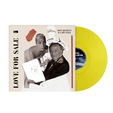 Love For Sale (Exclusive Colored Vinyl) von Tony Bennett & Lady Gaga - LP jetzt im Lady Gaga Store