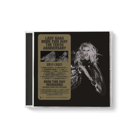 Born This Way (The Tenth Anniversary) von Lady GaGa - 2CD jetzt im Lady Gaga Store