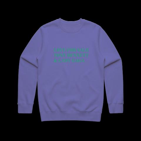 LOVE FOR SALE von Tony Bennett & Lady Gaga - Crewneck Sweatshirt jetzt im Lady Gaga Store